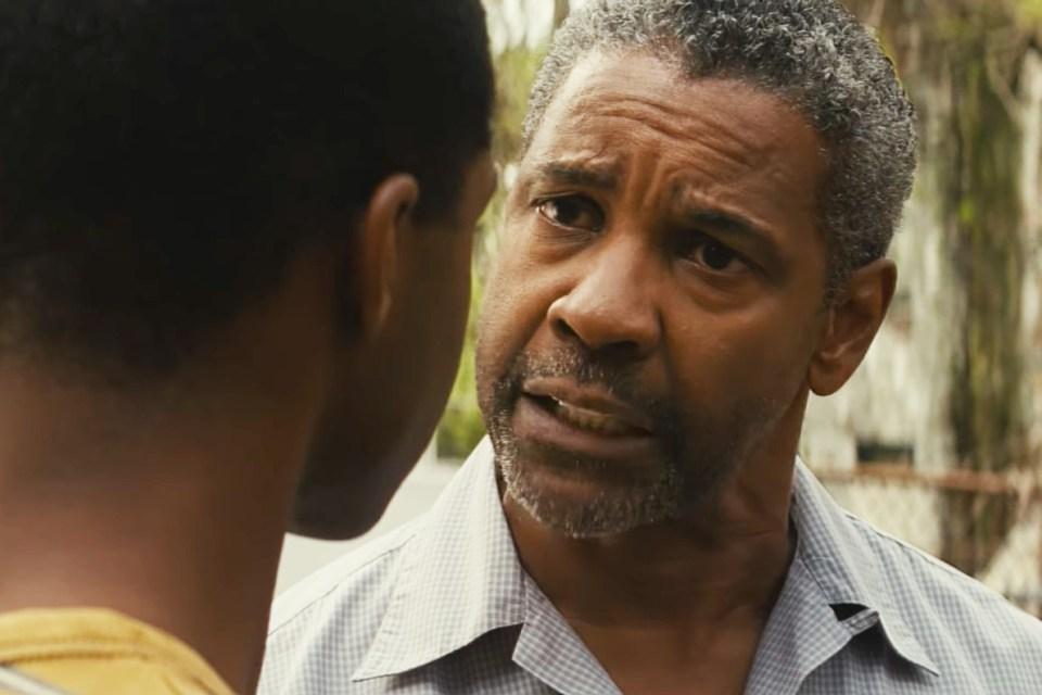 Denzel Washington disputa o prêmio de melhor ator, por seu papel em Fences