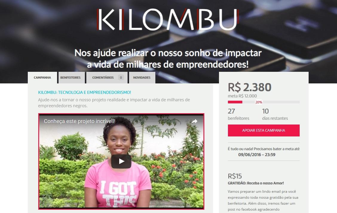 Kilombu  Tecnologia e Empreendedorismo