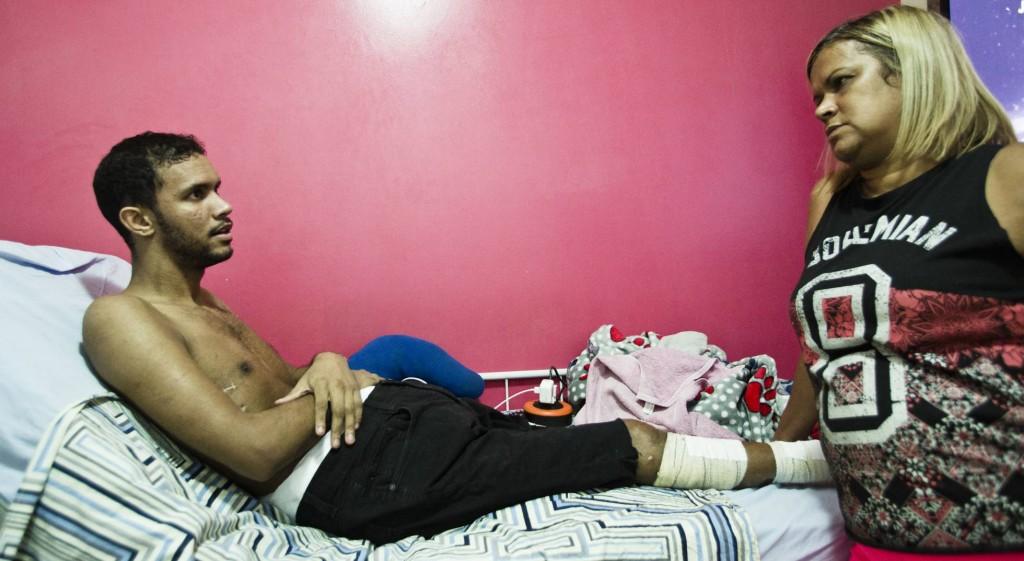 Vitor Santiago: vítima da violência policia ( Foto: Anistia Internacional)